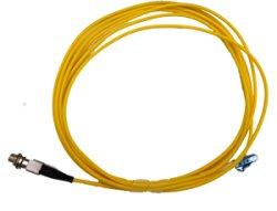 画像1: 光変換パッチケーブル(シングルモード、LC/FC、取り外し可能FCアダプタ付 3M)