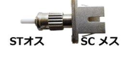 画像1: 光変換プラグ【STオス/SCメス変換:シングルモード】